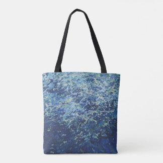 Choppy Sea Tote or Cross Over Bag by Juul