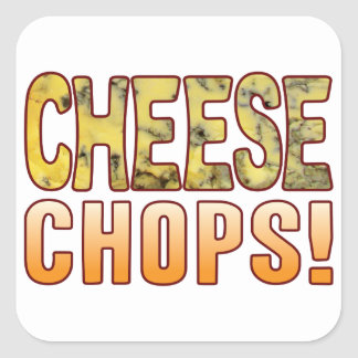 Chops Blue Cheese Square Sticker