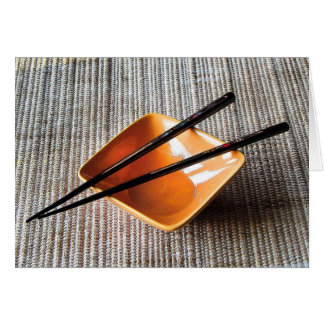 Chopsticks Card