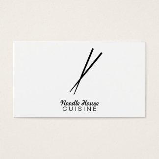 Chopsticks Variation Business Card