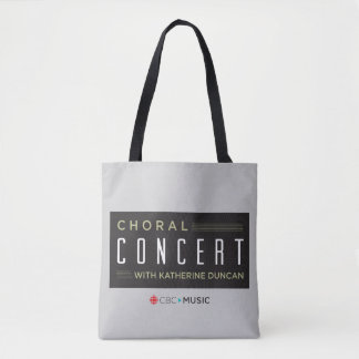 Choral Concert Tote Bag
