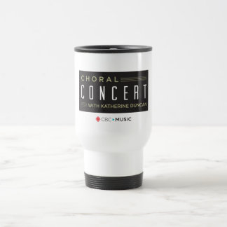 Choral Concert Travel Mug
