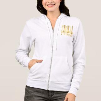 choral hoodoie gold hoodie