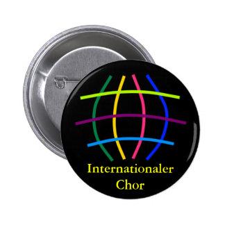 Chorale internationale macaron rond 5 cm