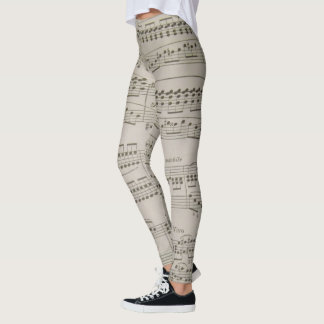 Chords and Arpeggios Leggings