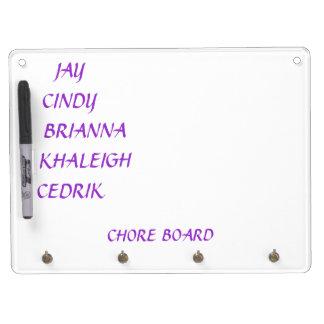 Chore Board and Key rack