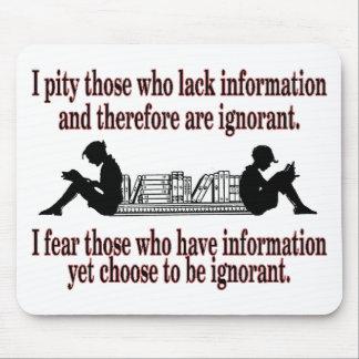 chosen ignorance mouse pad