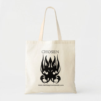 CHOSEN symbol tote bag
