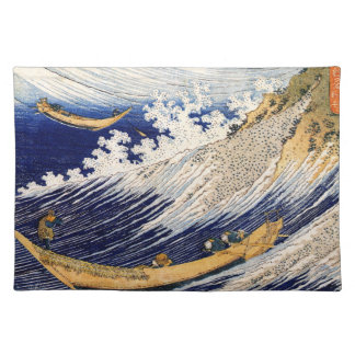 Choshi in the Simosa province by Hokusai Placemat