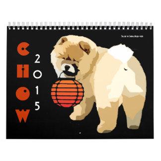 CHOW 2015..the artwork of Sandra Miller Wall Calendars