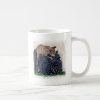 Chow and Cat Coffee Mug