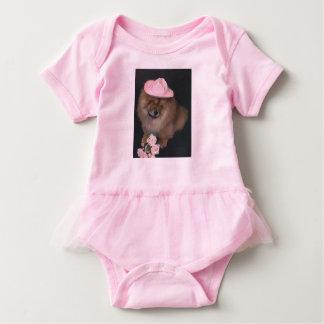 Chow Baby Tutu Body Suit Baby Bodysuit