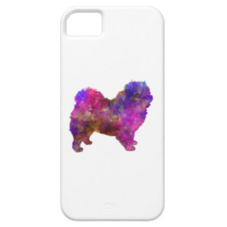 Chow-chow 01 in Watercolor 2 iPhone 5 Cover