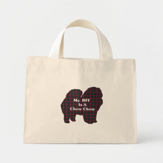 Chow Chow BFF Tote Bag