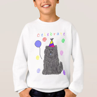 Chow Chow Black Celebrate Sweatshirt