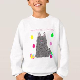 Chow Chow Black Somebunny Loves Me Sweatshirt