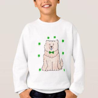 Chow Chow Cream Saint Patricks Day Sweatshirt