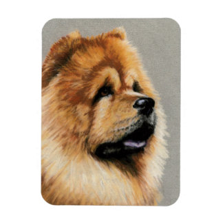 Chow Chow Dog Art Magnet