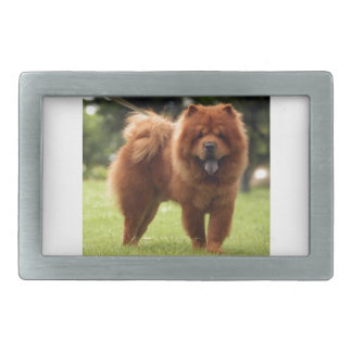 Chow Chow Dog Poses Belt Buckle