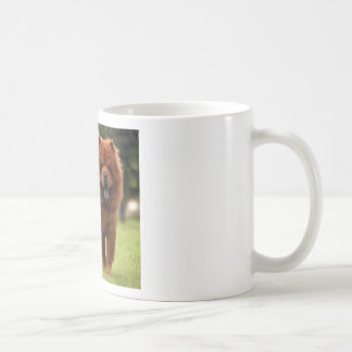 Chow Chow Dog Poses Coffee Mug