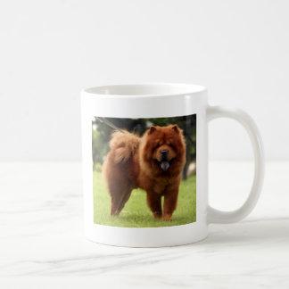 Chow Chow Dog Poses Coffee Mug