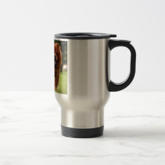 Chow Chow Dog Poses Travel Mug