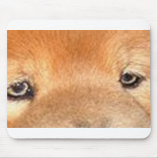 chow chow eyes mouse pad