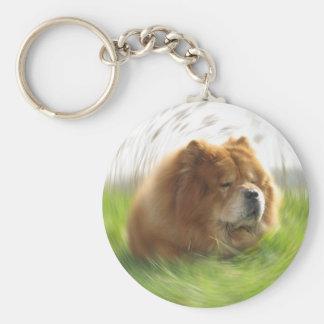 Chow-Chow Hund Keychain