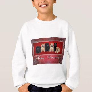 Chow-chow_kartka christmas sweatshirt