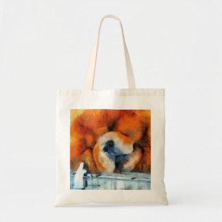 Chow Chow Painting Bag