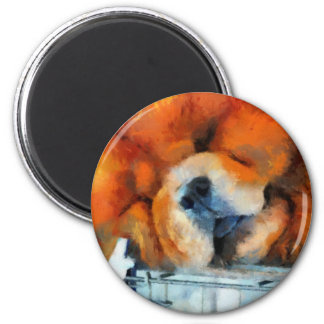 Chow Chow Painting Magnet