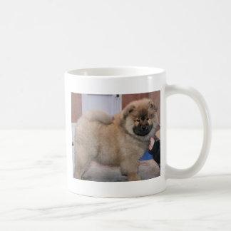 chow chow pup coffee mug