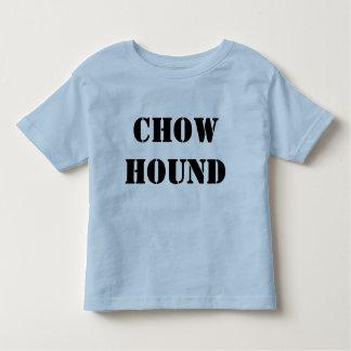 Chow hound toddler t toddler t-shirt