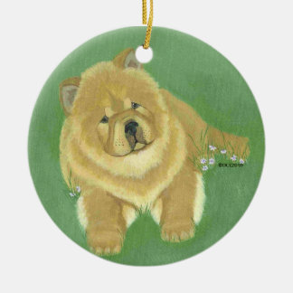 Chow Ornament ART