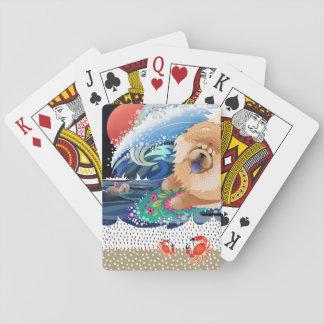 CHOWABUNGA - Chow  - Playing Cards