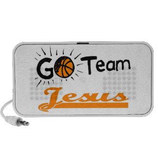 Chrétien de Jésus d'équipe Haut-parleur Mp3