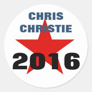Chris Christie 2016 Stickers