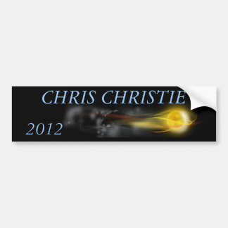 chris christie bumper sticker