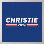 Chris Christie, Christie 2016 Poster