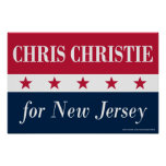 Chris Christie for New Jersey Posters