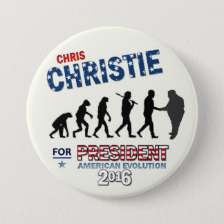 Chris Christie for President 2016 3 Inch Round Button