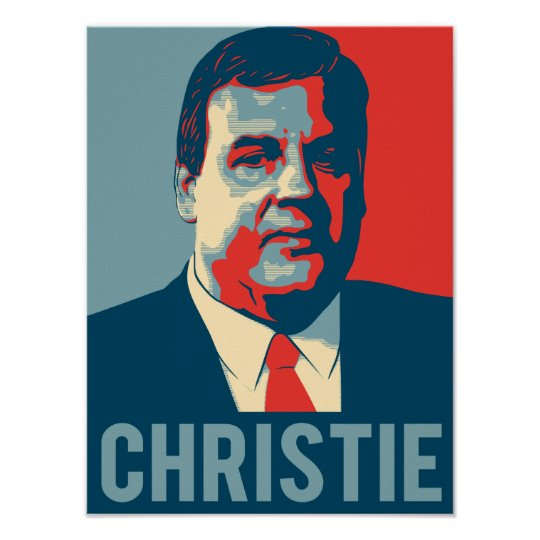 Chris Christie Hope Poster