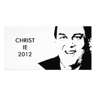 CHRIS CHRISTIE PHOTO GREETING CARD