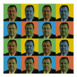 Chris Christie Pop-Art Posters