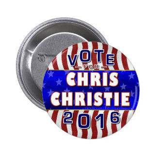 Chris Christie President 2016 Election Republican 2 Inch Round Button