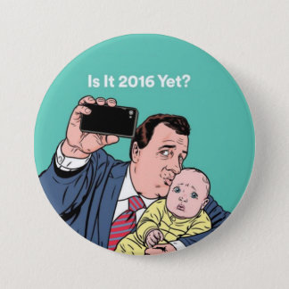 Chris Christie Selfie 3 Inch Round Button