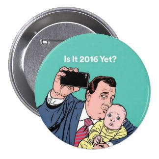 Chris Christie Selfie 3 Inch Round Button