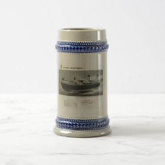 Chris Craft Sportsman Beer Stein