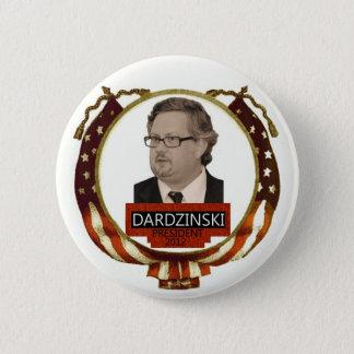 Chris Dardzinski for President 2012 2 Inch Round Button
