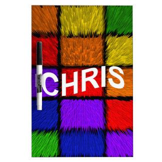 CHRIS DRY ERASE BOARDS